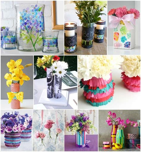 35 creative diy flower vase ideas for your home