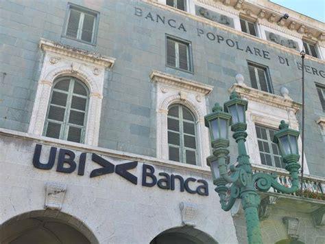 Ubi Banca Palermo by Ubi Banca L Avanzata Straniera Tra I Grandi Soci