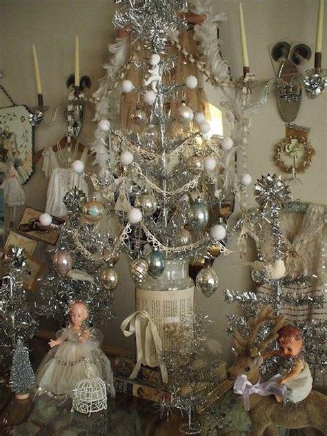 impressive vintage white christmas decorating ideas interior god