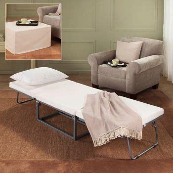 stowaway sleeper ottoman novaform stowaway folding bed guest sleeper