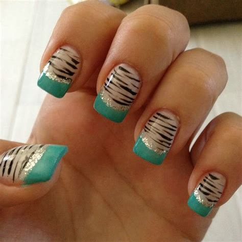 nails designs zebra print 38 animal print nail art designs godfather style