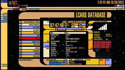 lcars theme for windows 10 star trek lcars windows 10 theme themes windows