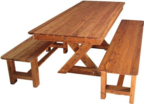 Local Councils Bench Timber Furniture Outdoor Patio Table With Bench Seating