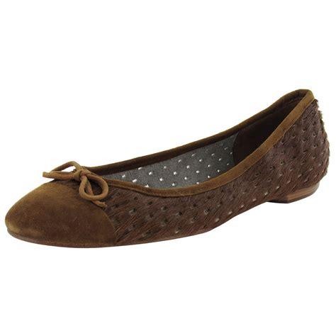 shoe flats delman womens brook leather ballet flat shoe ebay