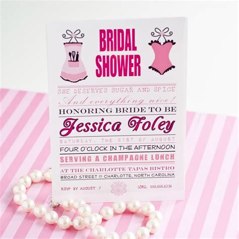 Bridal Shower And Bachelorette by Sugar And Spice Bridal Shower Bachelorette Printable