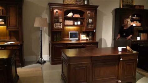 brookhaven executive home office desk set  hooker furniture youtube