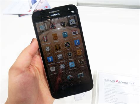 themes for huawei g7 huawei ascend g7 hands on review new metal mid range