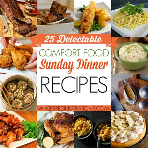 comfort food meals comfort food dinner recipes