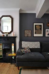 grey walls living room sue graeme s eclectic victorian townhouse house tour apartment therapy