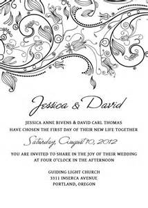free editable wedding invitation templates wedding invitation templates free gangcraft net