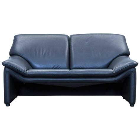 designer leather sofas for sale laauser atlanta designer sofa leather black two seat couch