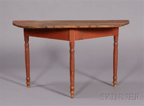 turned leg console table red painted turned leg console table bidsquare