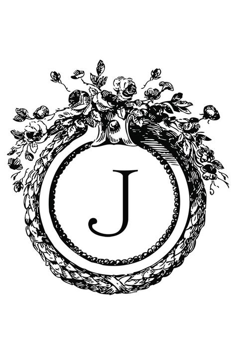 tattoo letter j design 808 best images about the letter j on initials