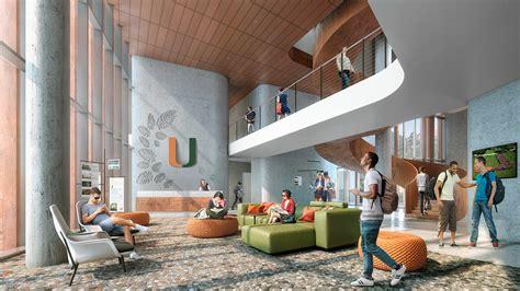 university  miami student housing village interior