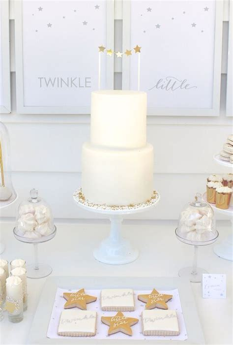 All White Baby Shower Cake by 41 Gender Neutral Baby Shower D 233 Cor Ideas That Excite