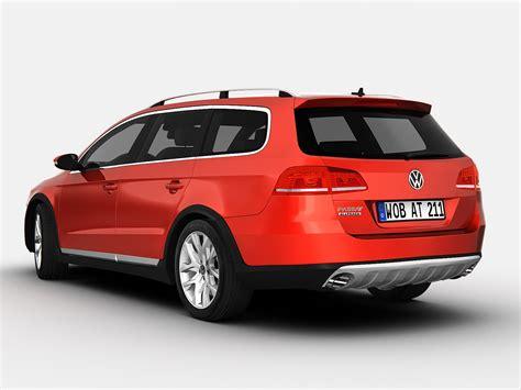 volkswagen models 2013 volkswagen passat alltrack 2013 16459 3d model max obj 3ds