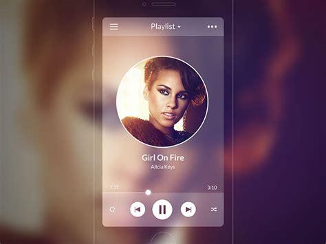 41 Music App UI Design Concepts For IOS   Web & Graphic