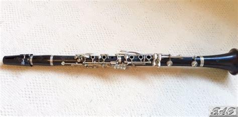 vintage buffet cron e11 b flat clarinet item mi