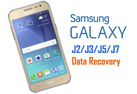 Samsung J3 J2 recover deleted lost data from samsung galaxy j2 j3 j5 j7