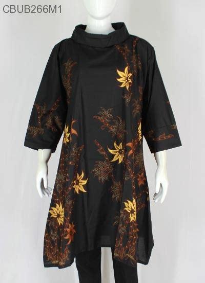 Baju Batik Tunik Dress Batik dress tunik batik kamaratih blus lengan tanggung murah