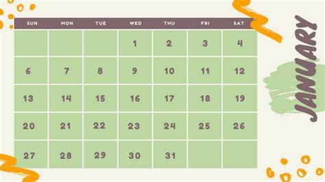 Calendrier Canva Calendar Templates Canva