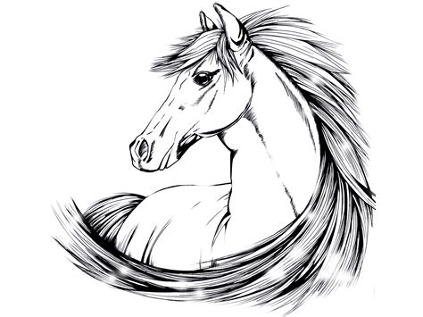 tattoo designs of horses indian designs beautiful drawing