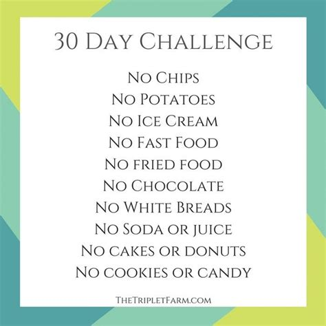 a weight loss challenge 30 day challenge my weight loss journey the triplet farm