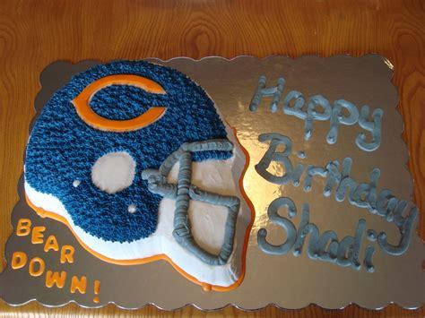 chicago bears birthday cake cakecentralcom