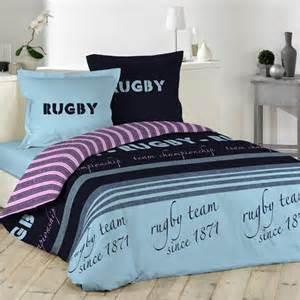 Impressionnant Housse De Couette Rugby #1: housse-de-couette-et-deux-taies-240-cm-rugby_34300_3.jpg