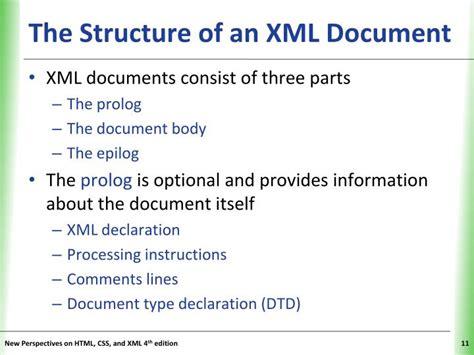 xml tutorial powerpoint presentation ppt tutorial 11 creating xml document powerpoint