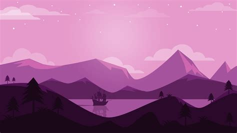 wallpaper mountains landscape panoramic purple