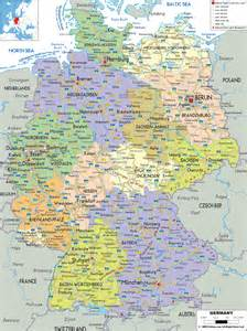 A Map Of Germany by Maps Of Germany Map Library Maps Of The World