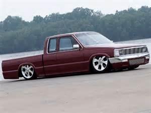 1986 mazda b2200 custom mini trucks truckin