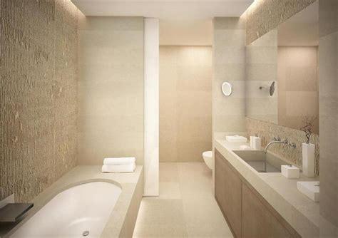 Modern Bathroom Beige Modern Bathroom Beige