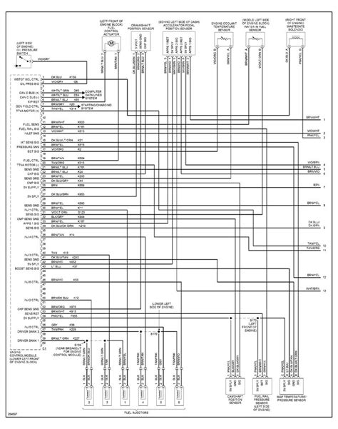 dodge ram  ecm wiring diagram wiring diagram   dodge ram cummins wiring diagram