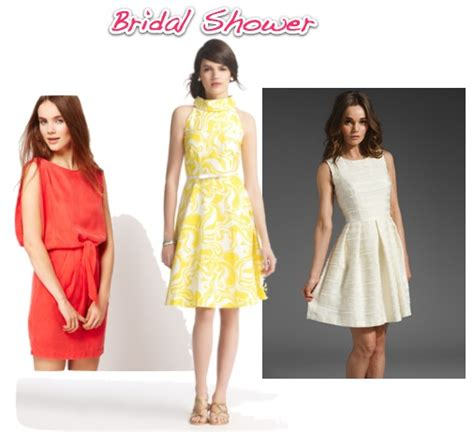 What To Wear To Wedding Shower by What To Wear To All Those Other Wedding Events