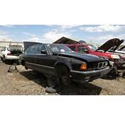 1992 BMW 750iL Junkyard Find