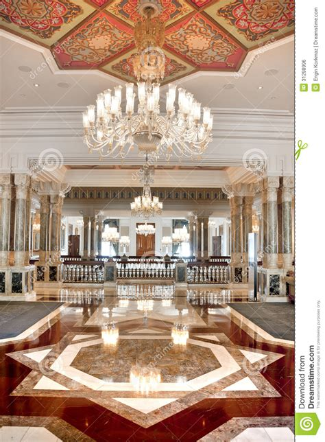 Ornament Chandelier Palatial Interior Stock Photo Image Of East Beautiful