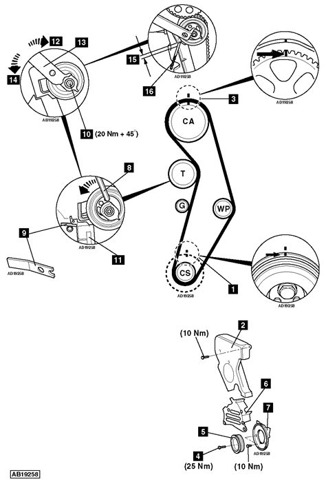 Kia Optima Timing Belt Replacement Kia Optima 2004 Timing Belt Replacement