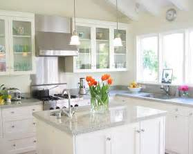 the best way to have white kitchen in a modern style