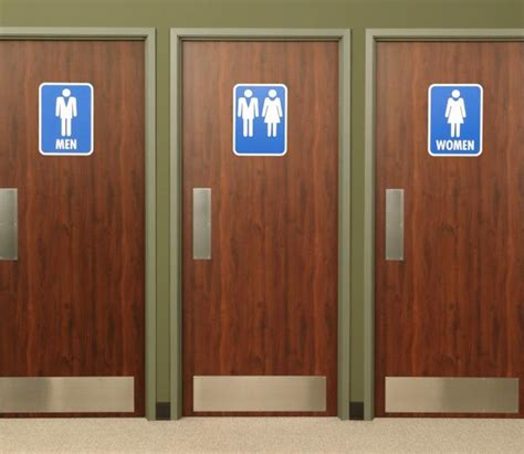what bathroom do transgenders use girls threatened with hate crime charges for complaining