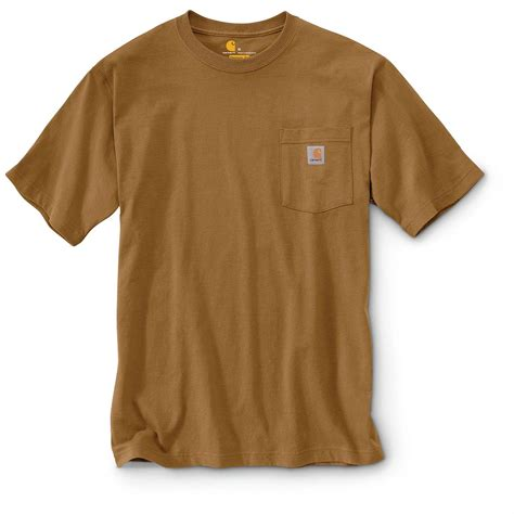 t shirt carhartt men s workwear pocket short sleeve t shirt