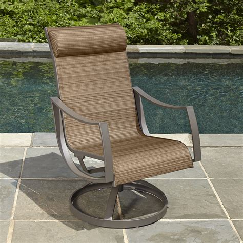 ty pennington style palmetto 1pc motion patio dining chair