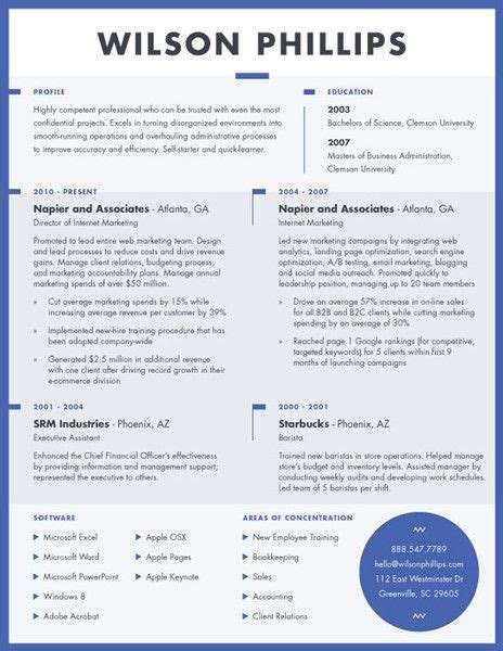 Contemporary Resume by Contemporary Resume Resume Ideas