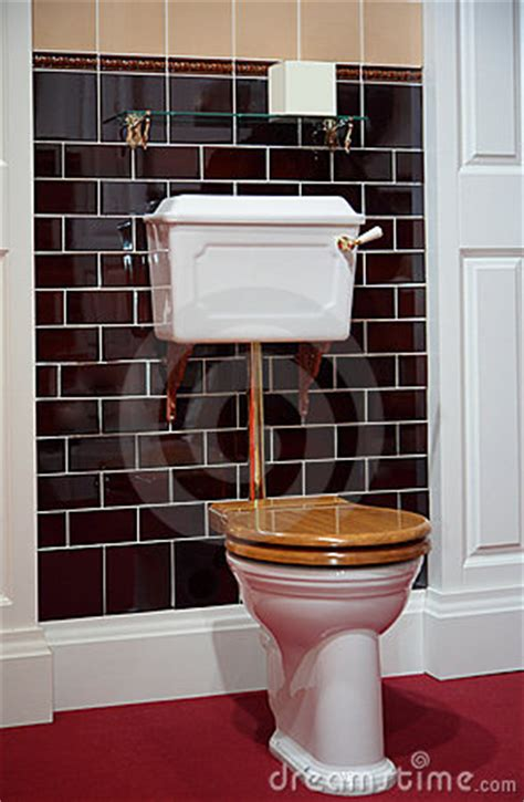 toilet   fashioned style royalty  stock photo