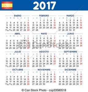 Cambodia Calendrier 2018 Vector Clip Of 2017 Squared Calendar 2017