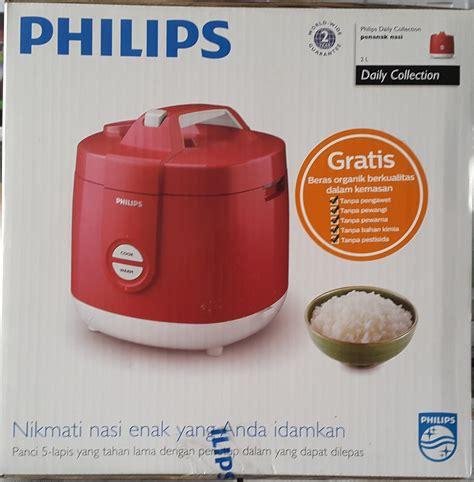 Magic Philips Peralatan Masak Rice Cooker jual magic rice cooker philips hd 3127 cr kosambi