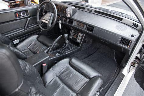 mitsubishi starion dash 1986 mitsubishi starion fast cars