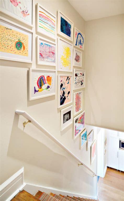 ways to display artwork creative ways to display