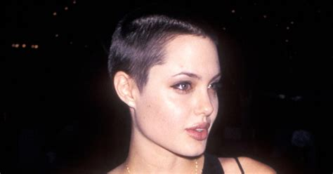 angelina jolie buzz cut angelina jolie stars with shaved heads us weekly